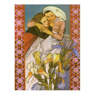 Wyspianski、Caritas (愛)、1904年 ポストカード
