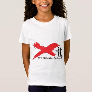 Xそれ: だれもビジネスTシャツ Tシャツ