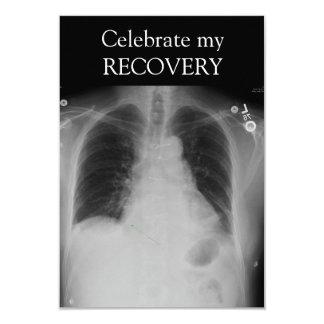 X光線の回復~の招待 カード