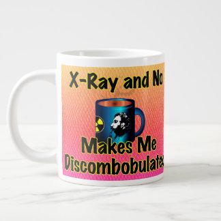 X線およびコーヒーは私を混乱しました作りません ジャンボコーヒーマグカップ