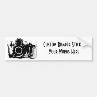 X線の視野のカメラの黒及び白 バンパーステッカー