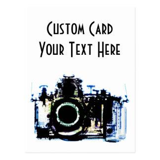 X線の視野のカメラ-オリジナル ポストカード