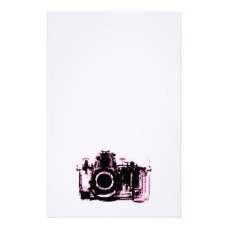 X線の視野のカメラ-ピンク 便箋