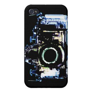 X線の視野のカメラ-元の青 iPhone 4 カバー