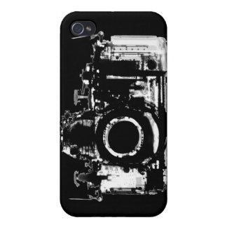 X線の視野のカメラ-黒及び白 iPhone 4/4Sケース