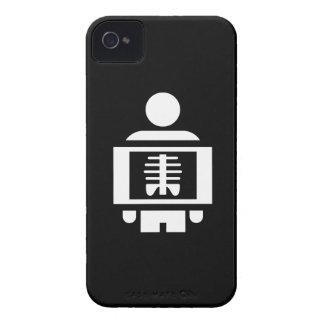 X線の視野のピクトグラムのiphone 4ケース Case-Mate iPhone 4 ケース