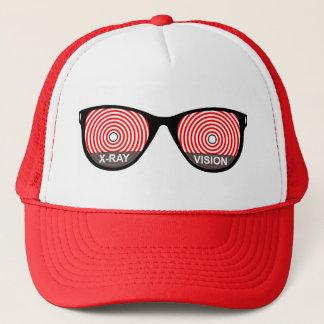 X線の視野ガラスの帽子 キャップ