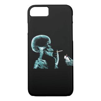 X線の骨組喫煙のタバコ iPhone 8/7ケース