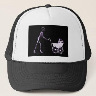 X線の骨組女性キャリッジ-紫色 キャップ
