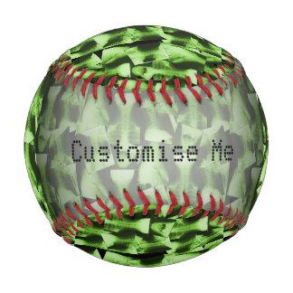 X線撮影をされる-放射性緑 野球ボール