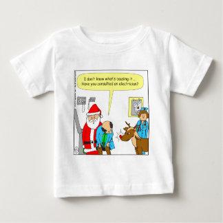 x48は電気技師の漫画に相談します ベビーTシャツ