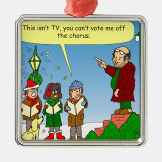 x54クリスマスの聖歌隊の漫画 メタルオーナメント