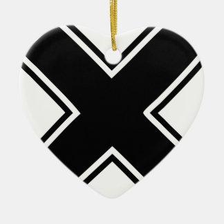 X セラミックオーナメント