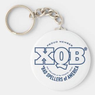 x.Q.B.のアメリカの悪いSpellers。 Keychain. キーホルダー