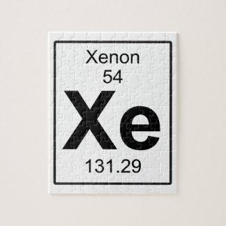 Xe -キセノン ジグソーパズル