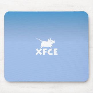 Xfce DE Blue マウスパッド