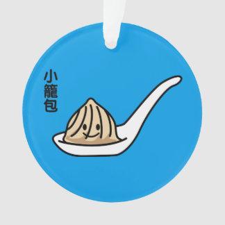 Xiaolongbao中国のなスープゆで団子の点心のパン オーナメント