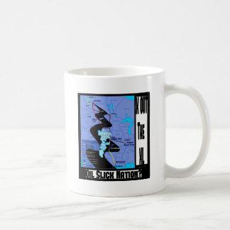 XLのパイプライン延長をストップ コーヒーマグカップ