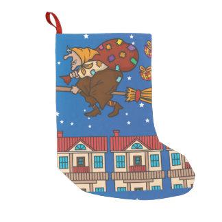 xmas Witch Befana stocking スモールクリスマスストッキング