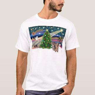 XmasMagicヨークシャテリア(2) Tシャツ