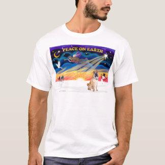 XmasSunrise -中国語Shar Pei 5 Tシャツ