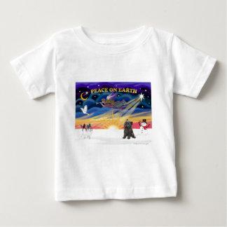 XmasSunrise Brindleケルン(21) ベビーTシャツ