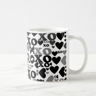 XOのモザイク コーヒーマグカップ