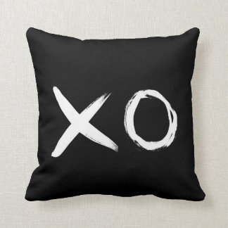 XOの白黒装飾用クッション クッション