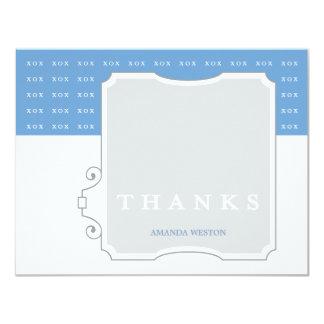 XOXの男の子のカスタムはメッセージカード感謝していしています カード