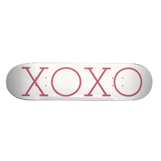 XOXOのスケートボード 18.7CM ミニスケートボードデッキ