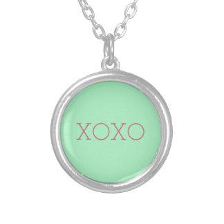 XOXOのネックレス シルバープレートネックレス