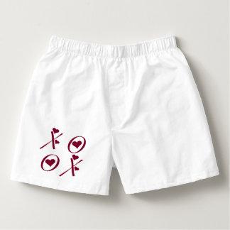 XOXOのハートのバレンタインデー ボクサー