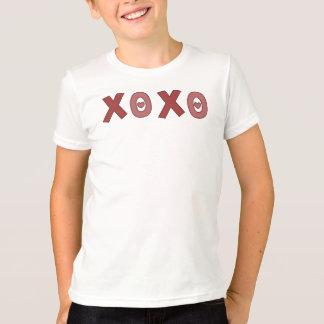 XOXOのバレンタインデーのワイシャツ Tシャツ