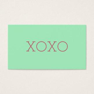 XOXOの名刺 名刺