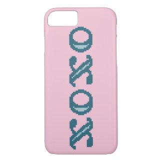 XOXOの抱擁およびキス iPhone 8/7ケース
