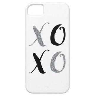 XOXOの抱擁およびキス iPhone SE/5/5s ケース