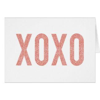 XOXO カード