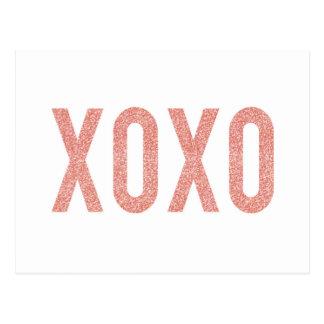 XOXO ポストカード