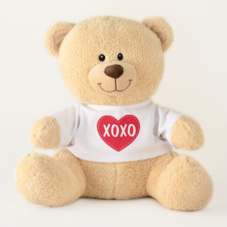 XOXO Valentine's Day Teddy Bear Stuffed Animal テディベア