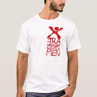 Xtraordinaryの紳士の赤04 Tシャツ