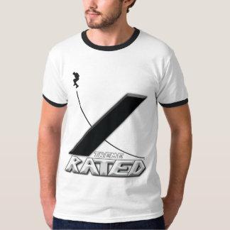 Xtremeの評価されインラインスケート選手 Tシャツ