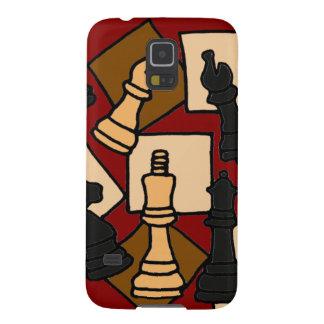 XW-チェスの抽象美術のデザイン GALAXY S5 ケース
