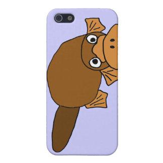 XXアヒルによってPlatypusの勘定書を出される漫画 iPhone 5 Case