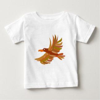 XX原住民の芸術のワシ ベビーTシャツ