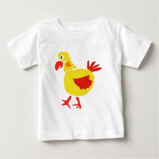 XX原住民の芸術の鶏 ベビーTシャツ