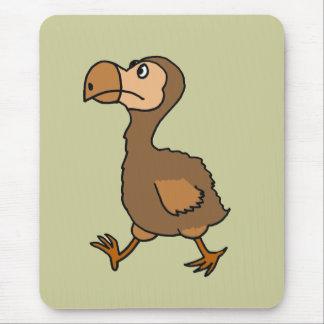 XX笑わされるなドードーの鳥のデザイン マウスパッド