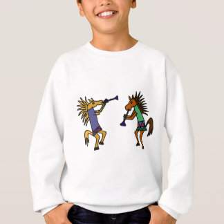 XX踊る馬 スウェットシャツ