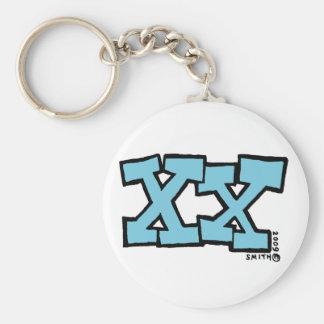 XX keychain キーホルダー