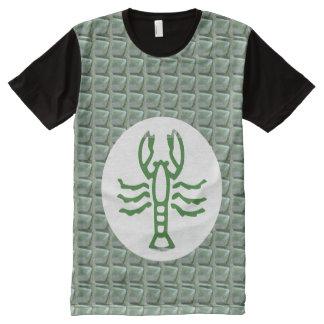XXLに小さいおもしろいのTシャツはパネルのTシャツを大きさで分類します オールオーバープリントT シャツ