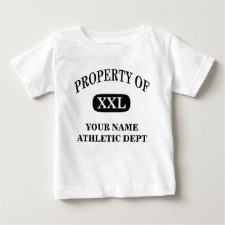 XXLの特性あなたの名前 ベビーTシャツ